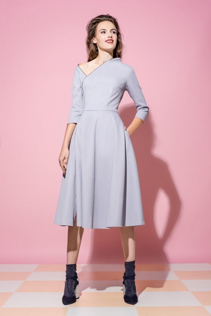 51145e9faf5 Платье Vikki с открытым плечем - Интернет-магазин одежды