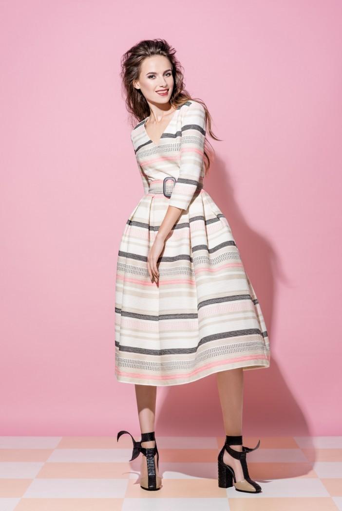 0abe646d9f9 Платье Vikki в полоску - Интернет-магазин одежды